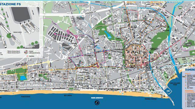 Rimini nord esclusa dalla mappa di Start Romagna. Mauro: svista inaccettabile