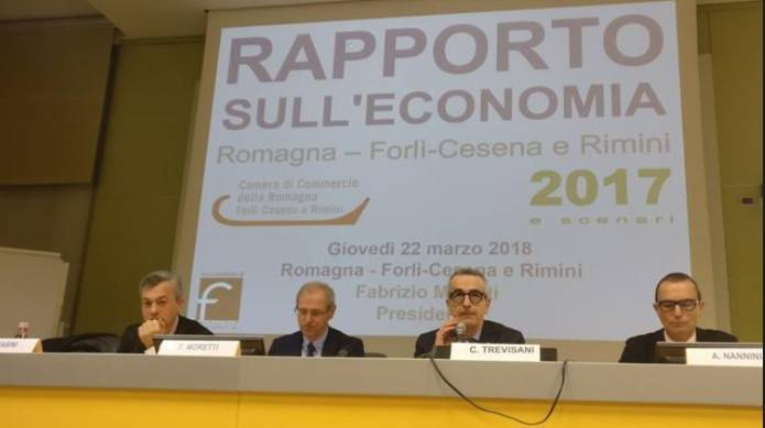 Rapporto Camera di Commercio: le dinamiche 2017 per l'economia delle province di Rimini e Forlì Cesena si confermano positive.