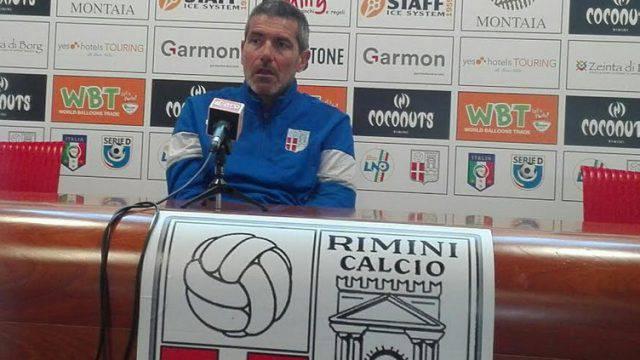 Rimini-Imolese. Righetti verso la sfida decisiva: