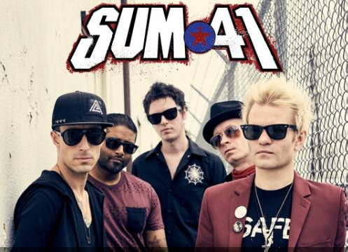 Al Rimini Park Rock il punk dei Sum 41