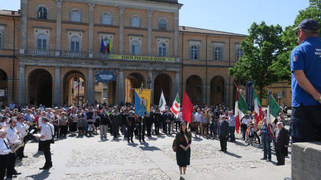 Il 25 aprile a Santarcangelo. Il sindaco parla della Siria