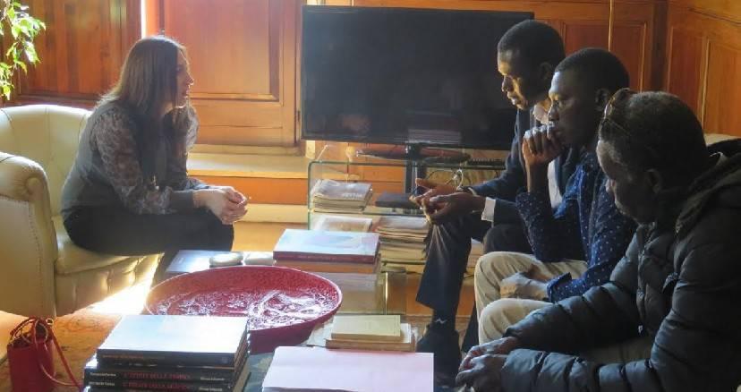 Il vicesindaco incontra i familiari di Makha Niang