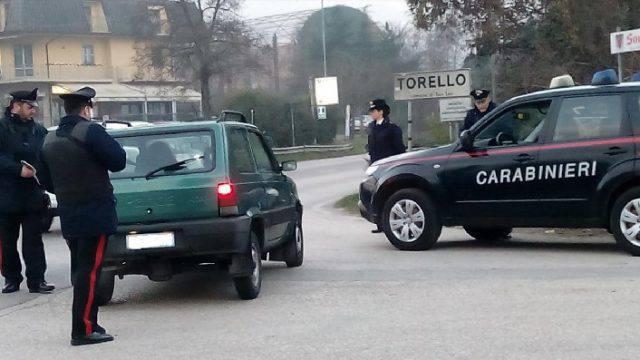 Controlli dei Carabinieri di Novafeltria: identificate oltre 100 persone