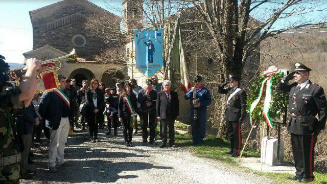 A Fragheto la commemorazione dell'eccidio nazifascista