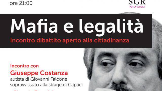 Giovedì un incontro con Giuseppe Costanza, uomo di fiducia di Falcone