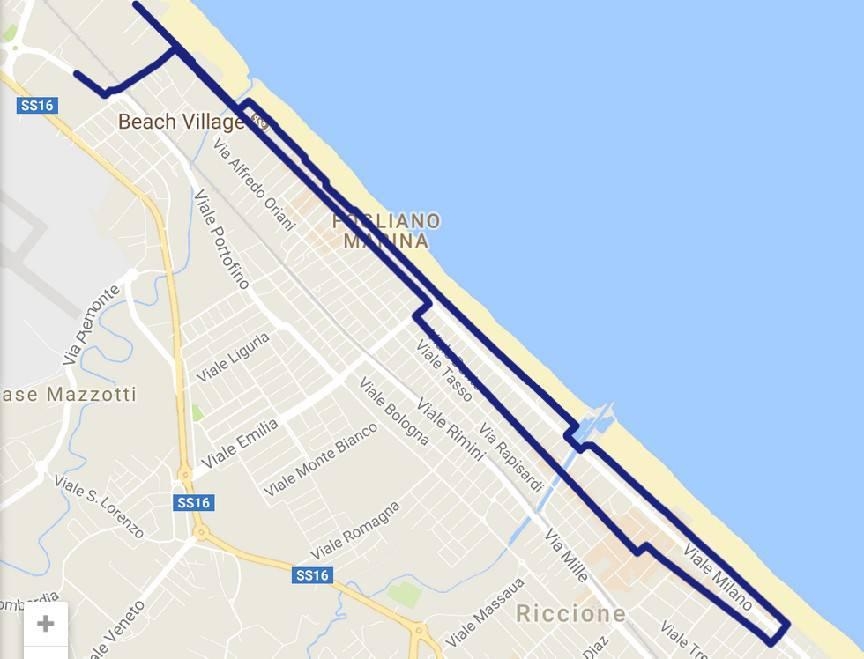 Rimini Marathon. Le modifiche alla viabilità per Riccione
