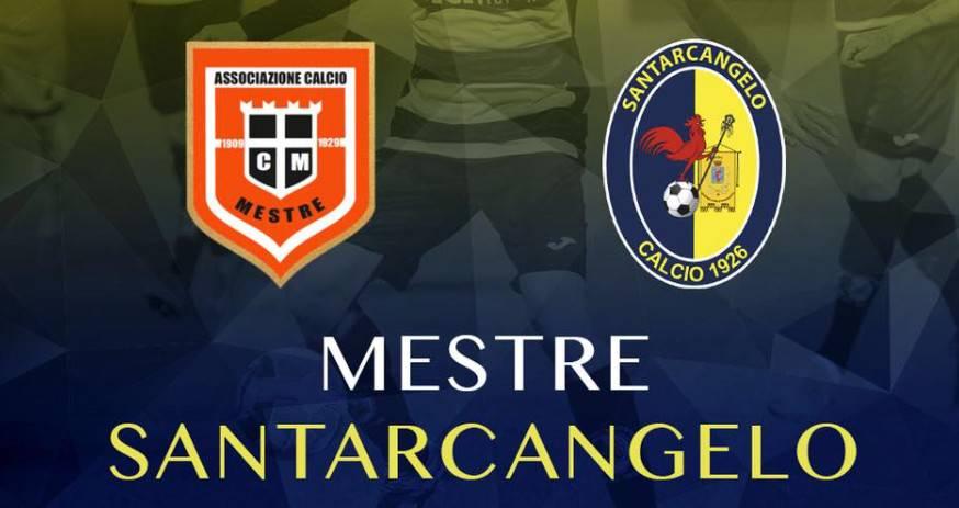 Serie C. Santarcangelo travolgente col Mestre, tre punti d'oro