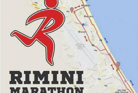 Rimini Marathon, domenica percorso chiuso al traffico dalle 5 alle 16