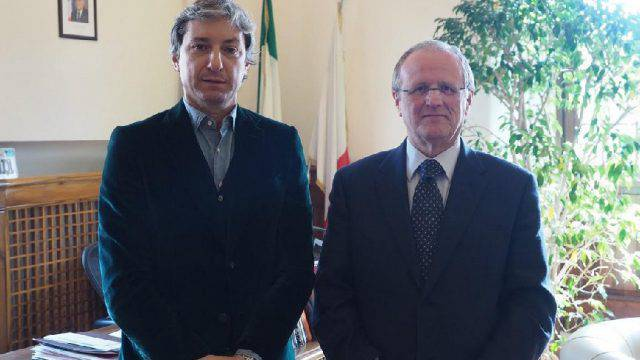 Gnassi riceve ambasciatore italiano a San Marino.