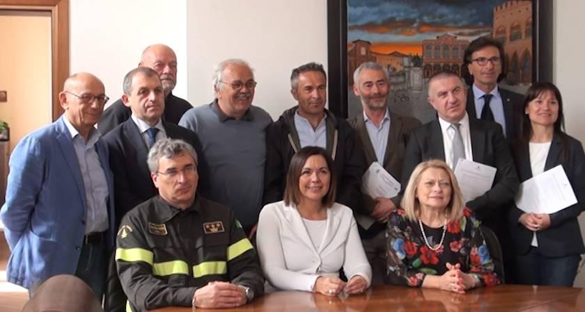 Centro integrato di soccorso nell'ivaso del Conca. Sottoscritto il Patto