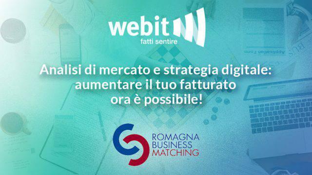 WEBIT protagonista degli appuntamenti digitali