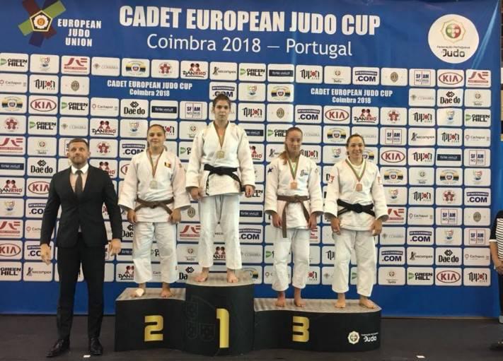 Caterina Mazzotti sul podio