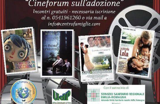 Parlare di adozione con l'aiuto dei film. Tre serate a Riccione e Cattolica