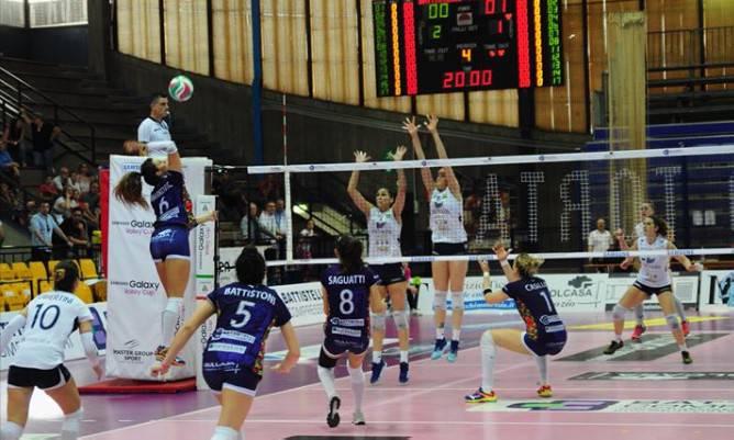 Volley donne. Successo della Battistelli in gara1 dei play off
