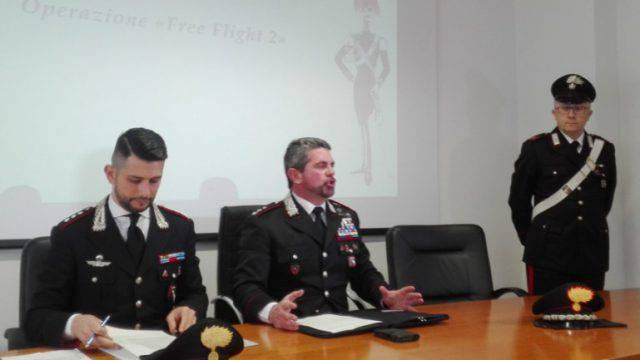 Contrasto al narcotraffico: i Carabinieri danno seguito all'operazione