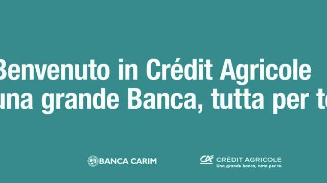 Carim: acquistata oltre la metà delle azioni offerte da Crèdit Agricole
