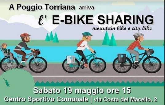 Poggio Torriana lancia l'E-bike sharing