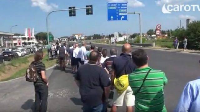 Il Giro d'Italia passa a Rimini. Presidiate 57 intersezioni