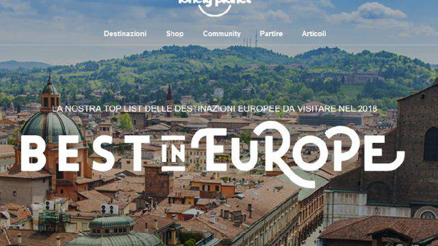 Il Best in Europe di Lonely Planet premia l'Emilia Romagna