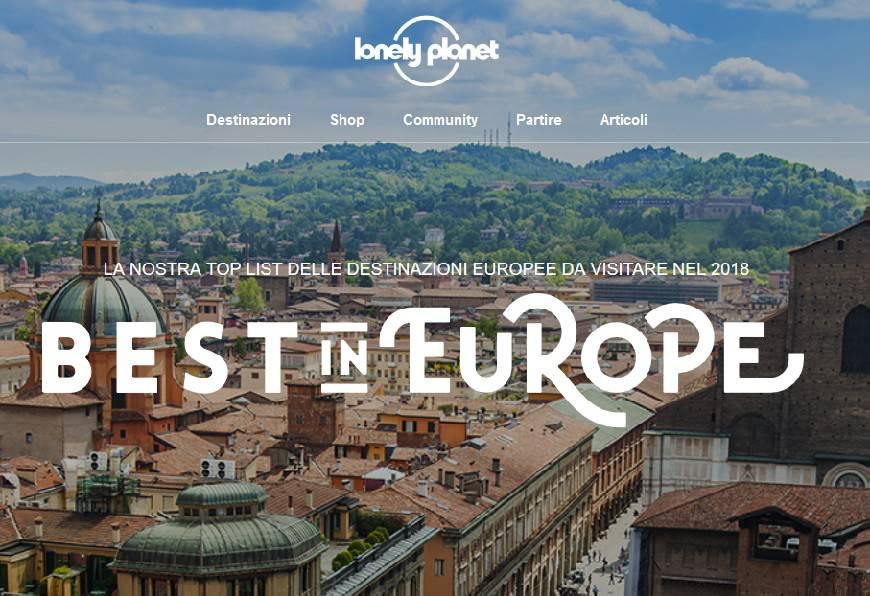 Il Best in Europe di Lonely Planet premia l'Emilia Romagna