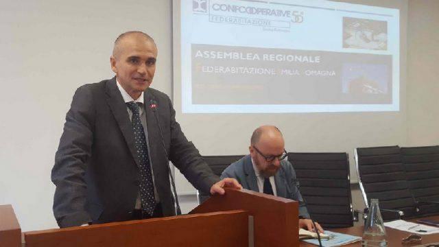 Il riminese Luca Bracci confermato alla guida di Confcooperative-Habitat ER