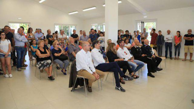 Inaugurata la nuova sala polivalente a Scacciano