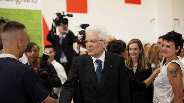 Il presidente Mattarella a San Patrignano per i 40 anni della Comunità