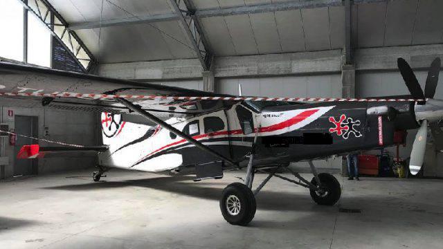 Iva evasa: sequestrato aereo ad associazione sportiva