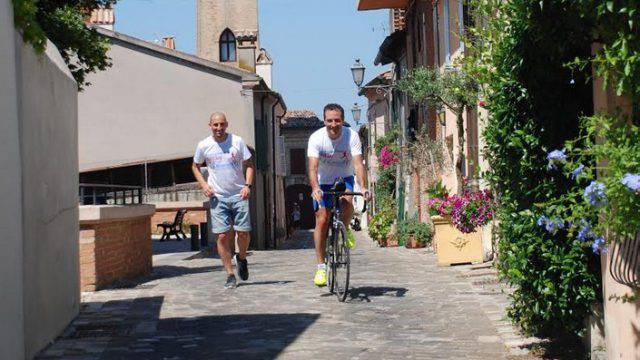 """""""Correre per sperare"""": Meta a Verona per il maratoneta De Paola"""