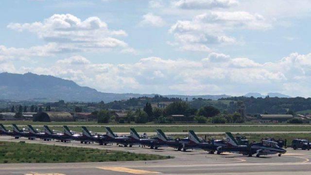 Pesaro Air Show. Per le Frecce Tricolori base a Miramare