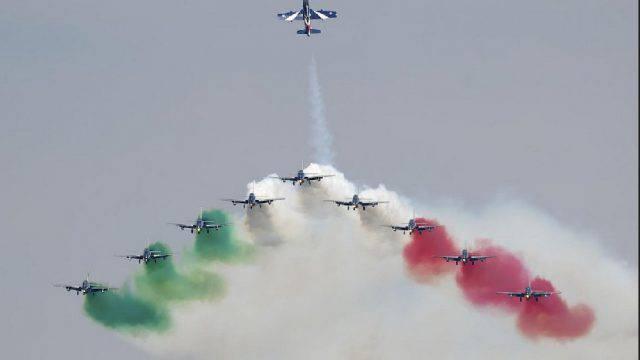 Bellaria Air Show, il programma definitivo. Domenica le Frecce tricolori