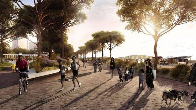 Parco del Mare, presentate le linee guida dello studio Miralles Tagliabue