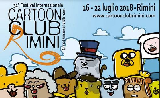 Sio firma il manifesto del 34° Cartoon Club