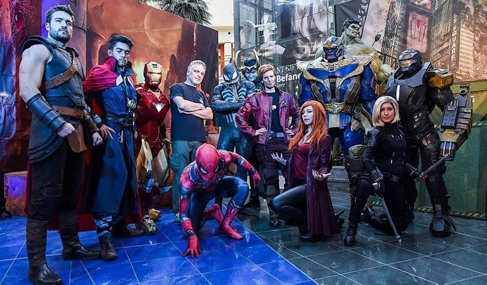 Super Heroes alle Befane col raduno Star Wars