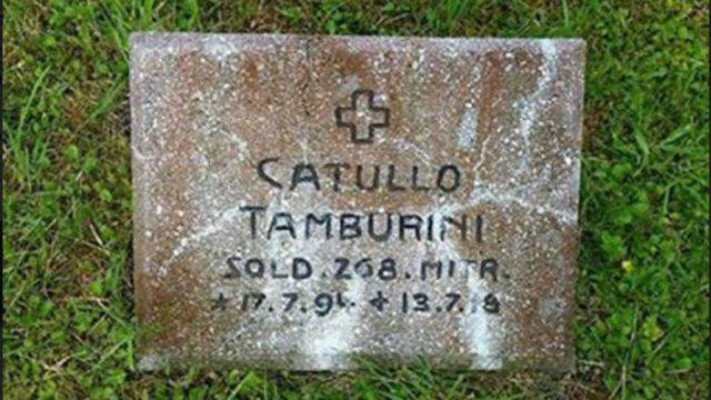 Dopo un secolo ritorvata in Polonia tomba di soldato di San Clemente, Getulio Giuseppe Tamburini, grazie a un infaticabile studioso.