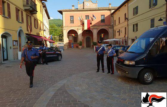Nel Montefeltro cittadini in ferie, controlli speciali dei Carabinieri