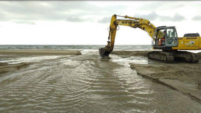 Scambio di acque al Marano, lavori notturni in corso