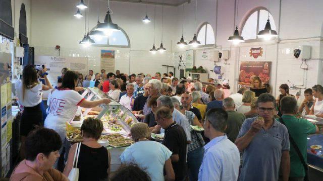 Inaugurato il mercato coperto di via Battisti a Santarcangelo