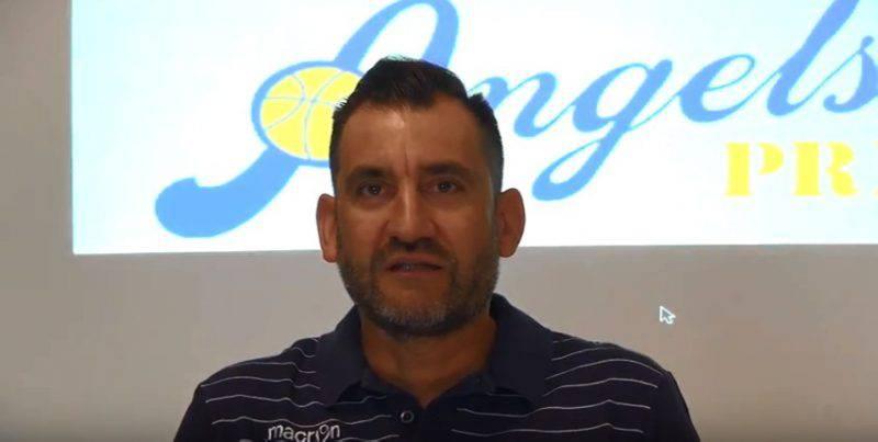 Cristian Evangelisti, coach degli Angels