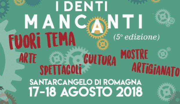 A Santarcangelo due giorni con 'I Denti Mancanti'