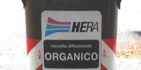 Hera. Nuovi contenitori per l'organico a Marina Centro