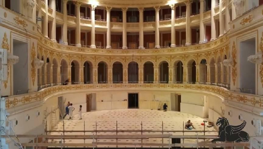 Ecco il Teatro Galli dall'interno