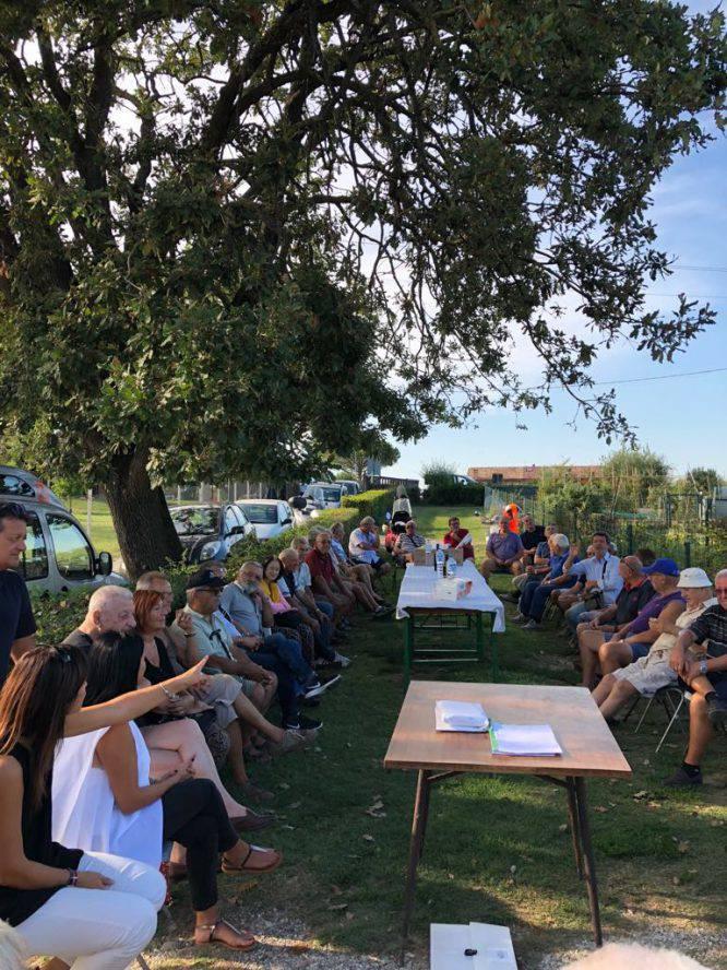 Orti anziani, a Riccione l'assemblea annuale con Tosi e vice