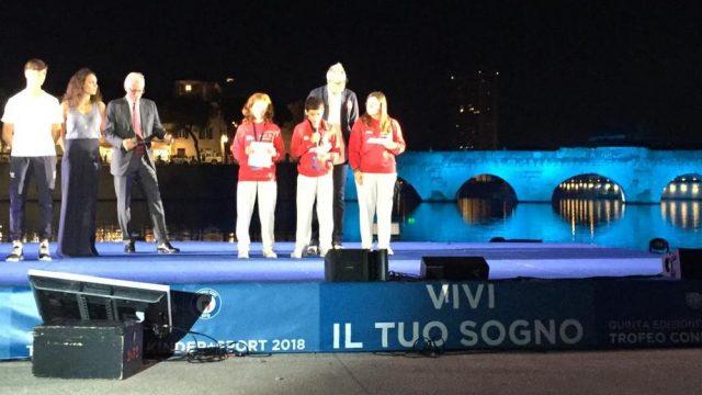Trofeo Coni Under 14, le immagini della cerimonia di apertura