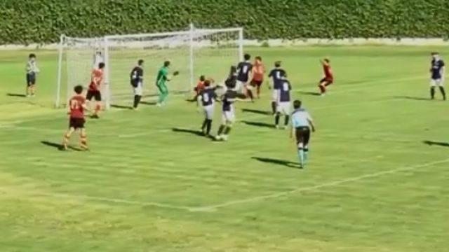 Il gol di Sylla Mbaye