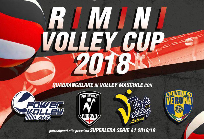 La locandina della Rimini Volley Cup