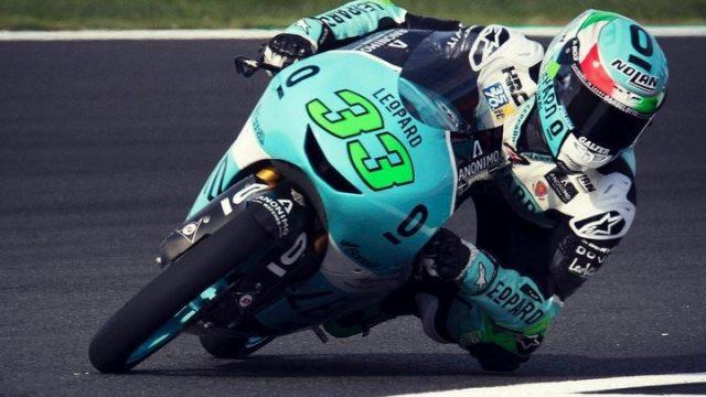 Moto3. Martin allunga, podio in rimonta Bezzecchi e Bastianini