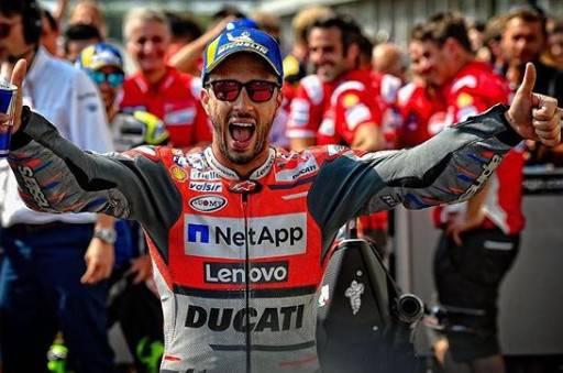 MotoGp. Dovizioso trionfa a Misano davanti a Marquez