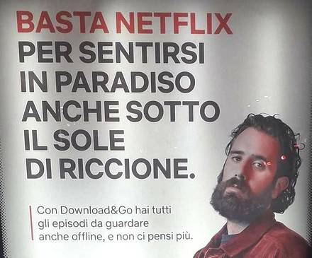 Netflix si promuove
