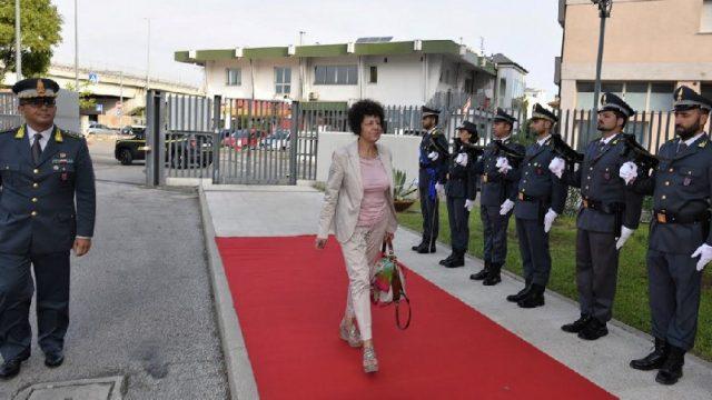 Il Prefetto in visita al Comando provinciale della Guardia di Finanza